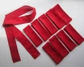 25 Red Headbands