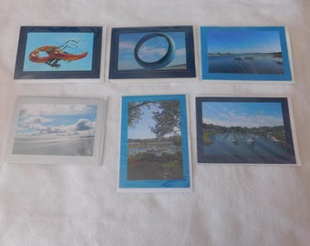 Coastal  Maine Blank Note  Cards