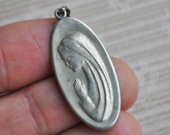 Vintage religious metal charm,pendant.