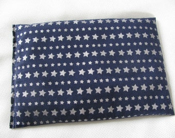 Hot & Cold Therapy Bag-Silver Stars/Navy