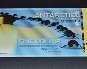 Antartica banknote uncirculated