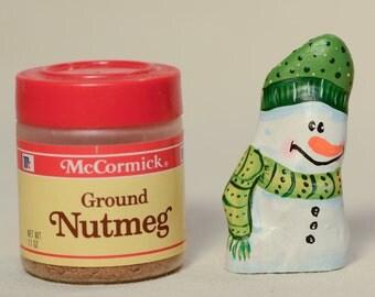 Miniature Cypress Knee Snowman