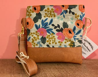 "Rifle Paper Co. Flower Crossbody ""The Nadia"""