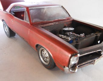 Scale Model Car,Junker Model,GTO,Classicwrecks,Rusted Wreck