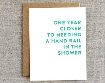 Funny Birthday Card, Happy Birthday Card, Funny Friendship Card, Old Card, Humor Card, Card for Friend, Card for Him, Card for Boyfriend