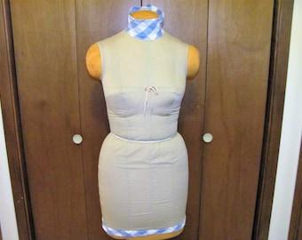 1950'a Dress Form / Display Mannequin / Dress Mannequin / Tailor's Mannequin