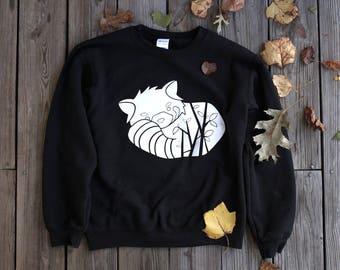 red panda crewneck | L | APPAREL