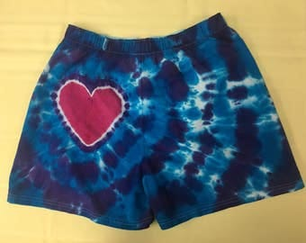 Tie Dye Heart On (TM) Boxers IN STOCK - Xl
