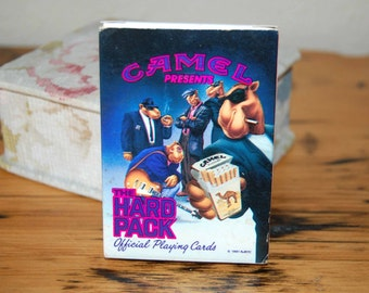 Vintage Camel Playing Cards Vintage Camel Cigarettes Hard Pack Playing Cards from The Eclectic Interior