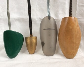 Four Vintage Shoe Trees