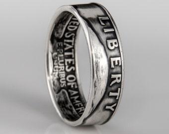 Washington Quarter Ring - SILVER (.900)