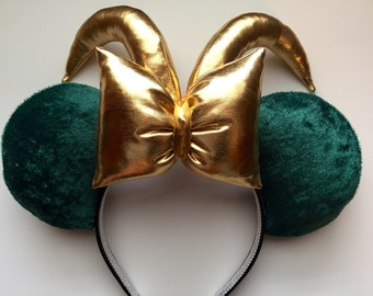 Marvel The Avengers Loki Mickey Ears