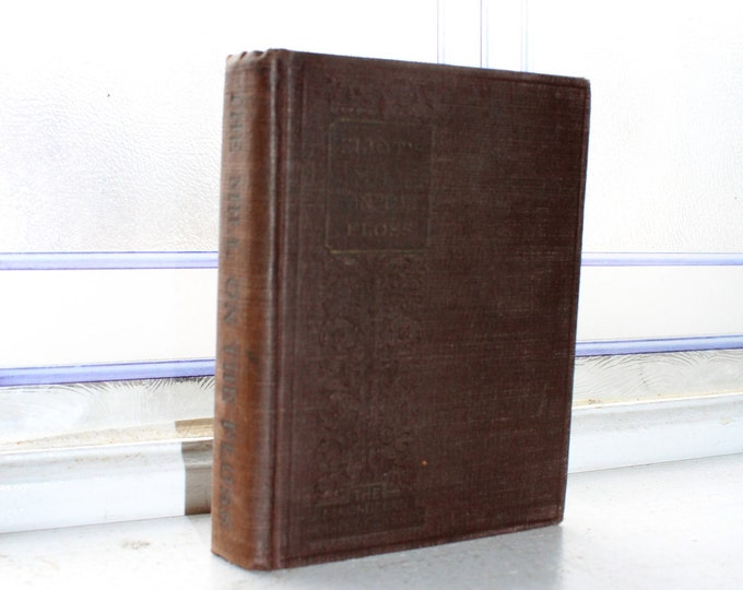 Vintage 1933 Book The Mill On The Floss George Eliot