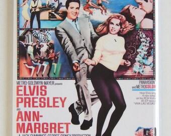 Viva Las Vegas Movie Poster Fridge Magnet