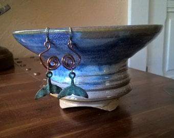 """La Baleine - 1 1/2"""" whale earrings gifts for women"""