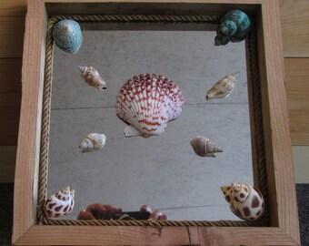 Beach Wall Window Art, fiber art