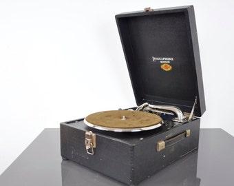 Liguaphone Sirius 78 gramophone   78 rpm records   78 record player