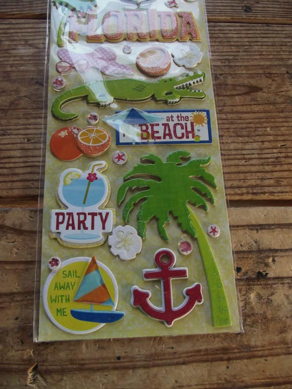 Basket Making Supplies Florida : K and company adhesive chipboard stickers citronella