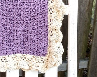 crochet baby girl blanket