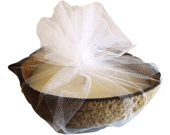 Coconut Shell Soy Candle - Coconut Grove Scent