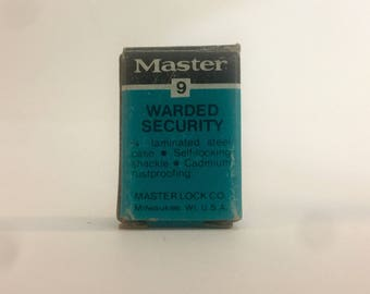 Master Lock 9 Working With Box Generic Mini Lock