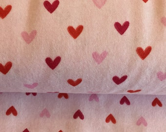 Valentine Heart Flannel by Riley Blake