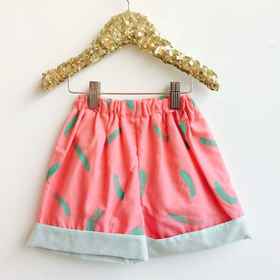 DANCER 4-6 Years Kids Childrens Shorts Pants Cullottes Cotton Pattern Unisex
