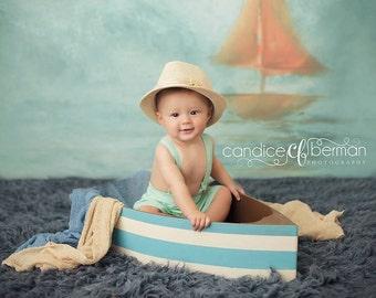 Boat Prop, Newborn Photo Prop, Boat Photography Prop, Photography Prop, Nautical Prop