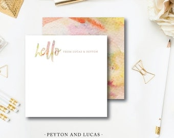 Peyton and Lucas Stationery