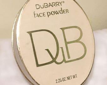 Vintage 1980s DuBarry Face Powder - Sealed and Unused 2.25oz