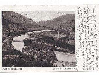 1909 Glenwood Springs, Colorado postcard udb