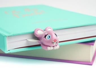 MYBOOKMARK // Funny Bunny // Fairyland Collection // Handmade and crafted with love // Back to school gift //