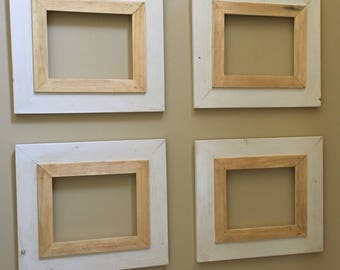 Grouping of 4 8x10 Picture Frames