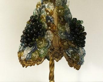 Italian Murano Glass Table Lamp...Stunning!!!...Weight 12lbs...