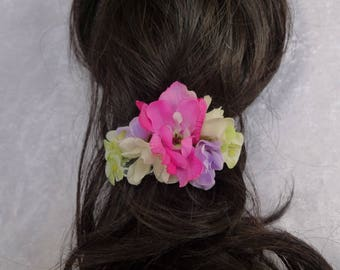 Summer flower hair clip