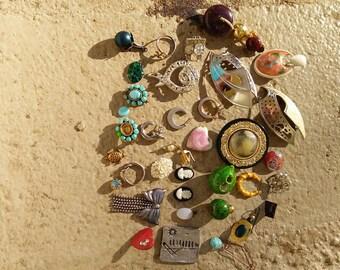 Destash of Jewelry Supply Trinkets