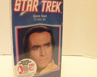Star Trek Space Seed Episode # 24 VHS Video Tape  New Factory Sealed