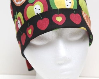 Ladies Surgical Scrub Hat - Chemo Cap - Pixie