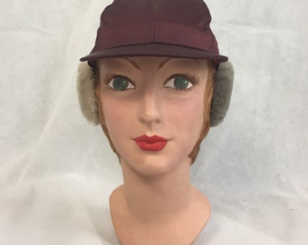 1930s cap with ear muffs
