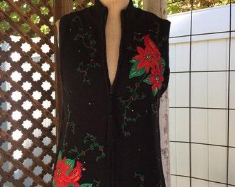 Ladies Christmas Vest