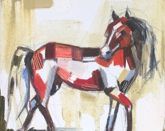 Spirit Horse, fine art print of original oil painting