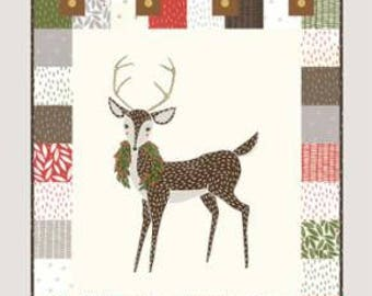Jolly Wall Quilt Kit by Jesse Maloney for Gingiber