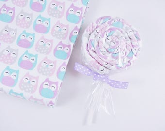 Owl Blanket Lollipop - Baby Girl Gift