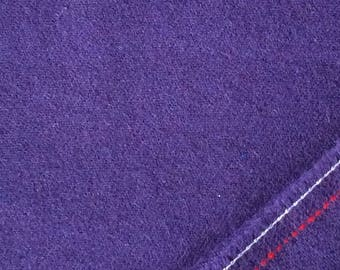 Purple Wool Fabric / Wool Fabric Yardage / Purple Wool / Wool Yardage