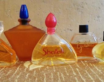 Vintage Perfumes 5 Mini Bottles Le Jour Infini Gilda Shafali Mystere Rochas