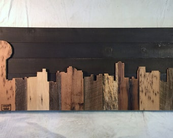 "Hand Crafted Knoxville 48"" Skyline"