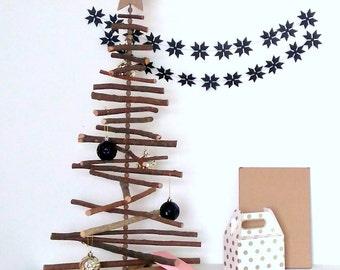 Star Garland - Christmas Garland - Christmas Bunting - Star Bunting - Mantle Decoration - Christmas Mantle - Holiday Decor Ideas - Bunting