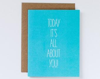 Sentimental Birthday Card, Sweet Birthday Card, Fun Birthday Card, Sweet Birthday Card, Birthday Card for Friend, Birthday Card for Him