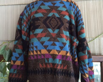 Vintage sweater L Tall London Fog wool large