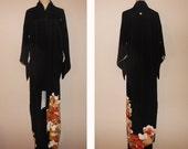 SALE 20%off!! - Vintage kimono - Phoenix, Tomesode, Yuzen